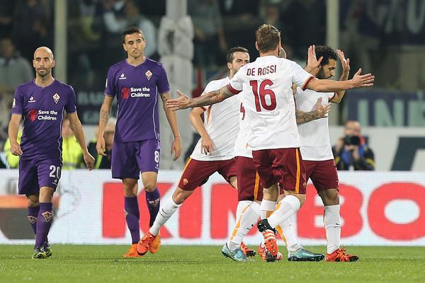 ACF Fiorentina vs Roma Serie a