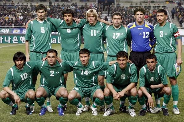 Turkmenistan Football Team