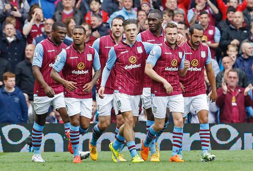 Aston VIlla Football team