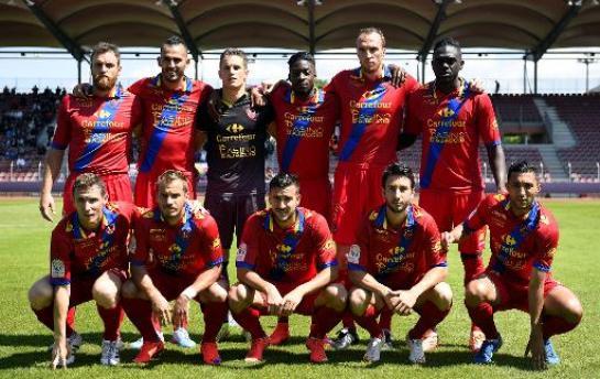 Gazelec Ajaccio Football Team