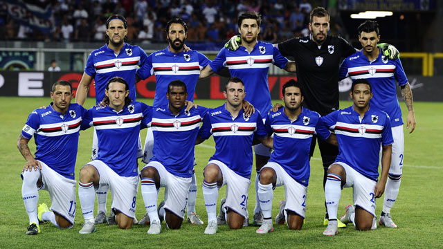 Sampdoria Football Team