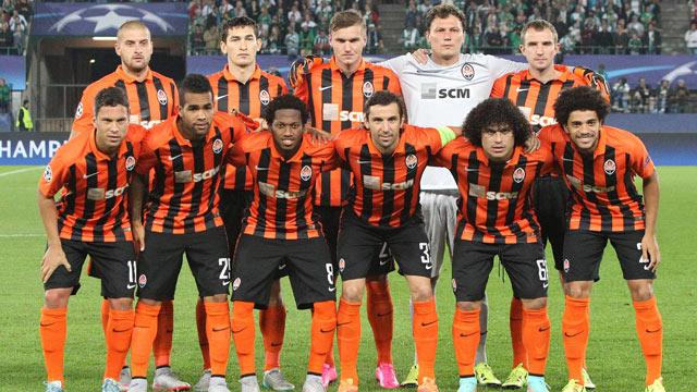Shakhtar Donetsk Football Team