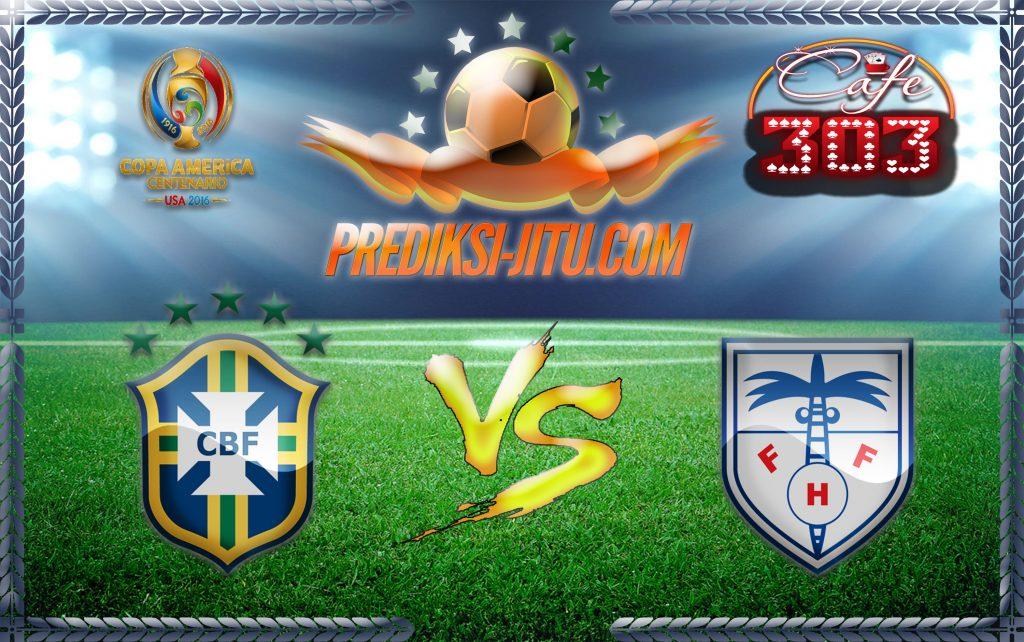 Prediksi Skor Brazil Vs Haiti 9 Juni 2016