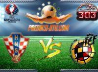 Prediksi Skor Kroasia Vs Spanyol 22 Juni 2016