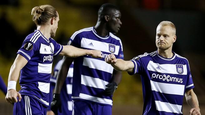 Anderlecht Football Team