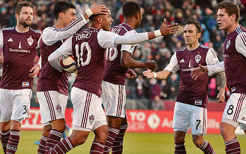 Colorado Rapids Soccer Team