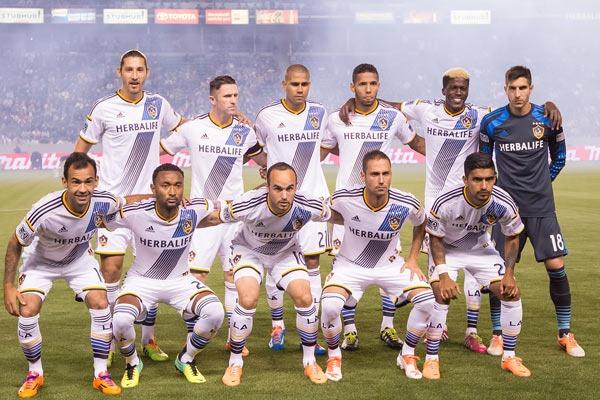 LA Galaxy Football Team