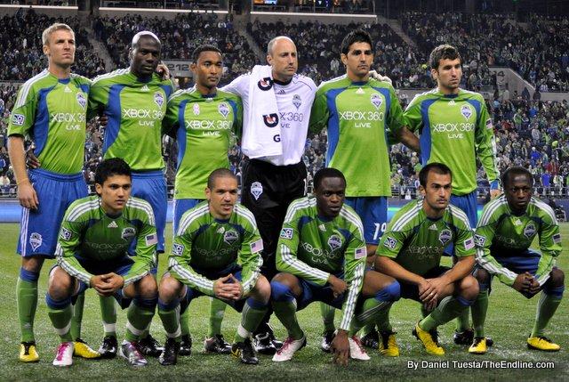Seattle Sounders  Football Team