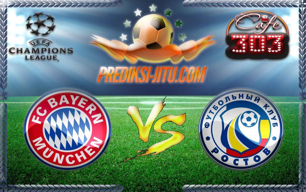 Prediksi Skor Bayern Munchen Vs Rostov 14 September 2016