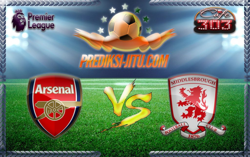 Prediksi Skor Arsenal Vs Middlesbrough 22 Oktober 2016