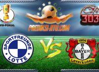 Prediksi Skor Sportfreunde lotte Vs Bayer Leverkusen 25 Oktober 2016