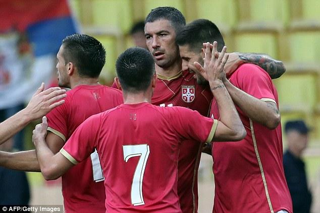 Serbia Football Team