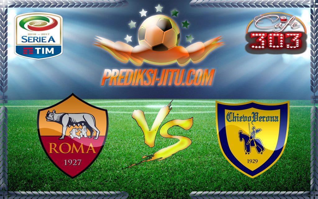 Prediksi Skor AS Roma Vs Chievo 23 Desember 2016