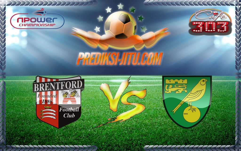 Prediksi Skor Brentford Vs Norwich City 1 Januari 2017