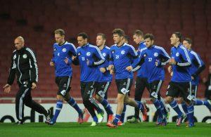 Schalke 04 team football