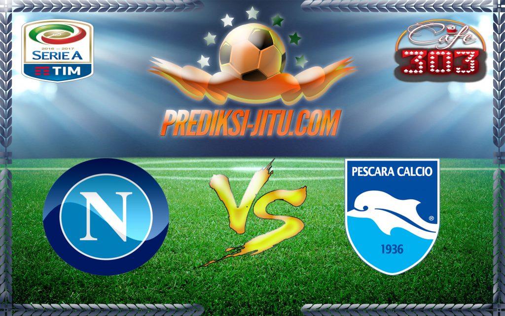 Prediksi Skor Napoli Vs Pescara 15 Januari 2017