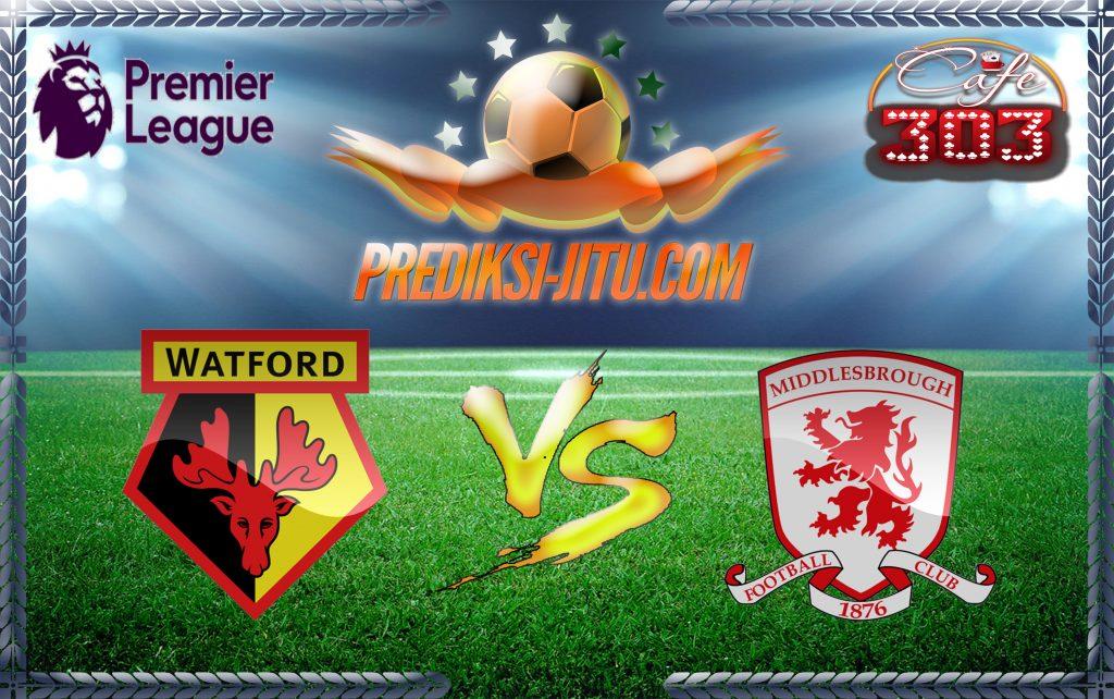Prediksi Skor Watford Vs Middlesbrough 14 Januari 2017