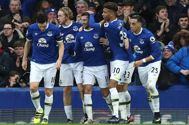 Everton Team Football