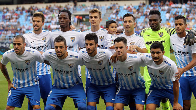Malaga Team Football