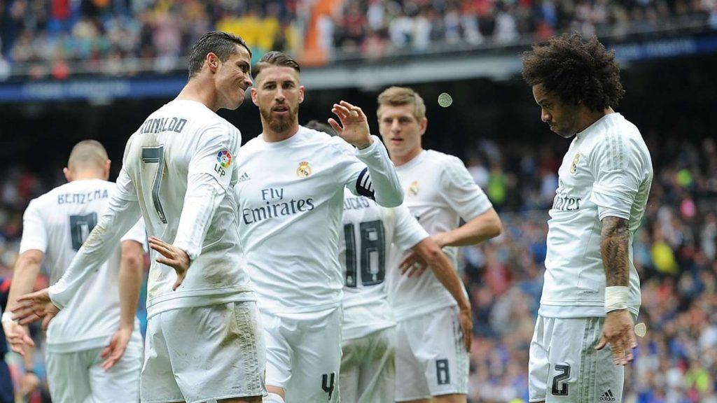 Real Madrid Team Football
