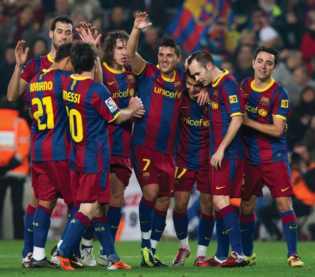 Barcelona Team Football