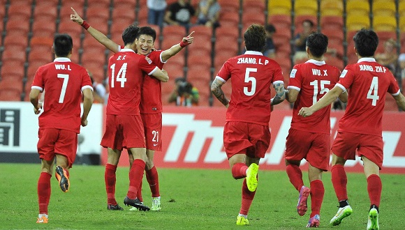 China Football Team