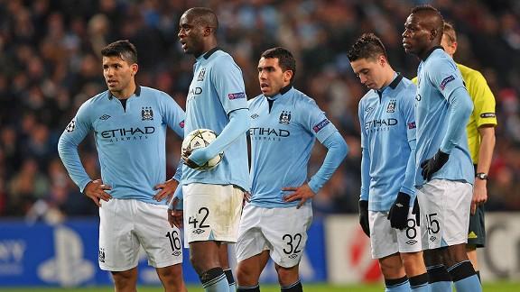 Mancheester City Team Football