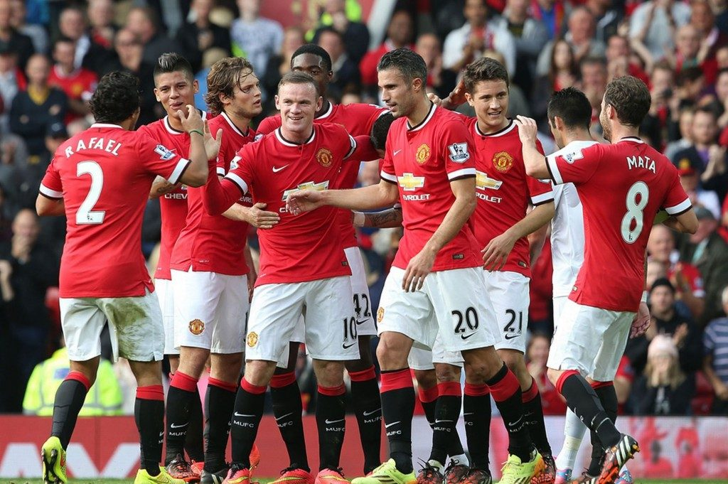 Manchester United Team Football