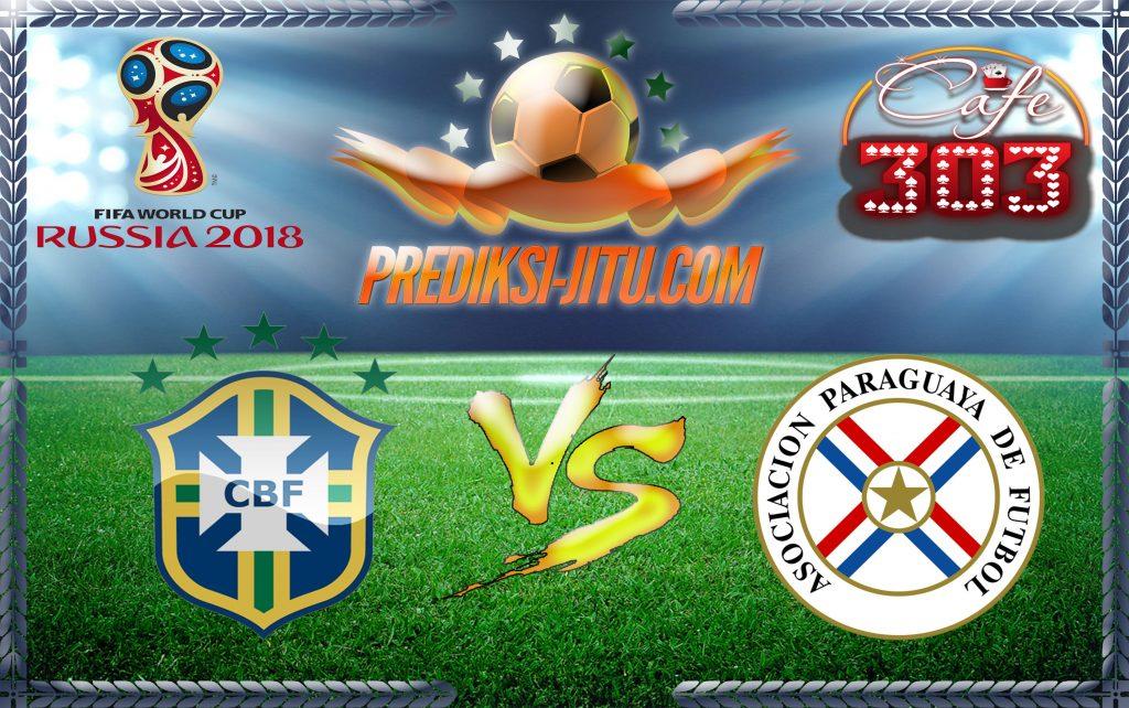 Prediksi Skor Brasil Vs Paraguay 29 Maret 2017