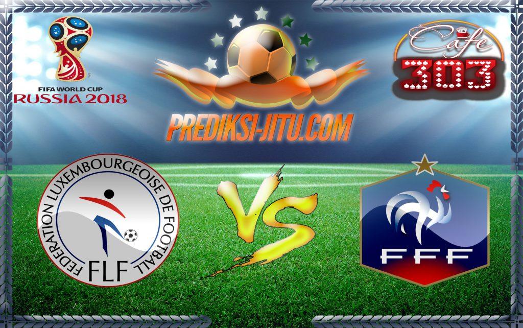 Prediksi Skor Luksemburg Vs Prancis 26 Maret 2017