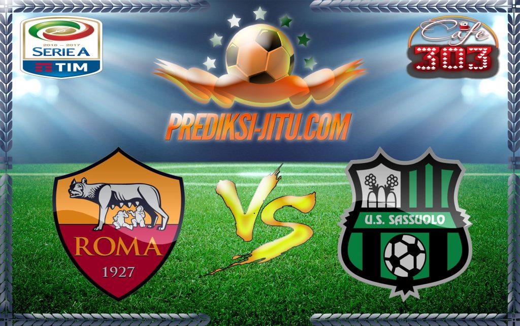 Prediksi Skor Roma Vs Sassuolo 20 Maret 2017