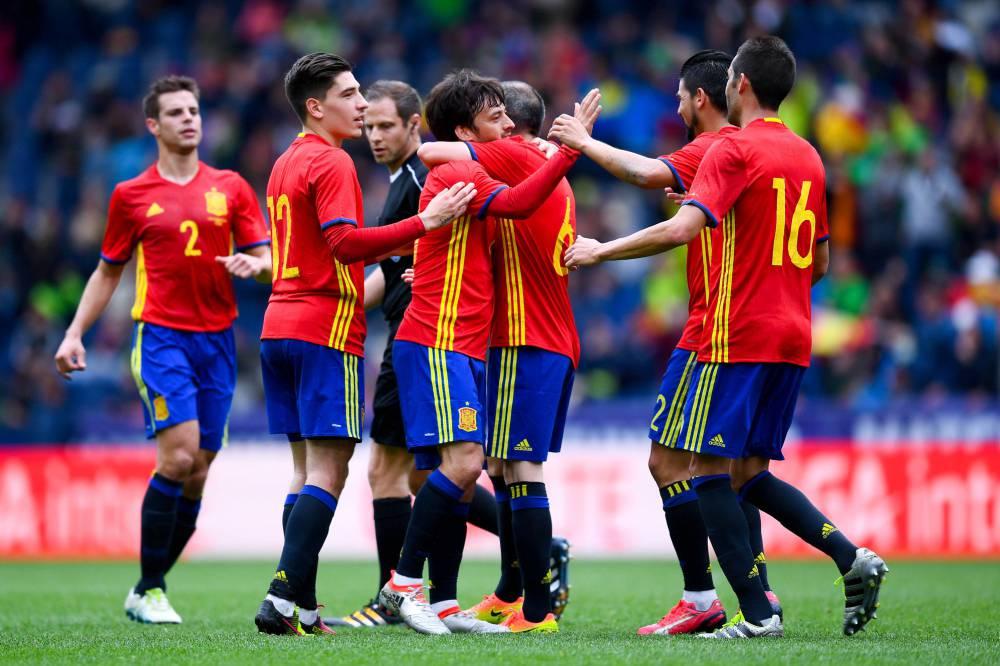 Spanyol Football Team