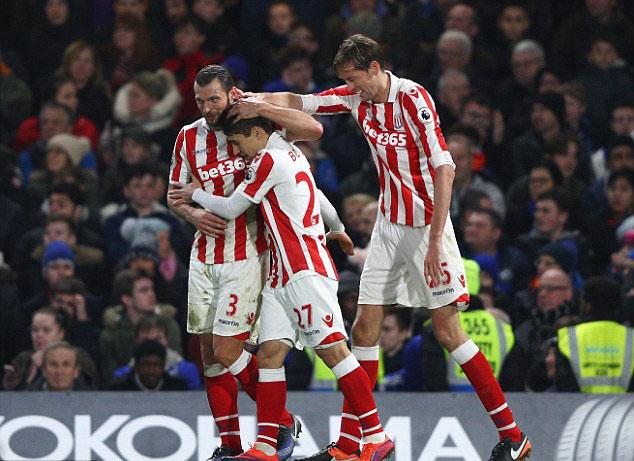 Stoke City Team Football