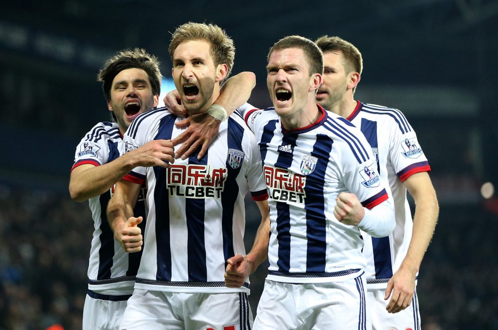Westbromwich Albion Team Football