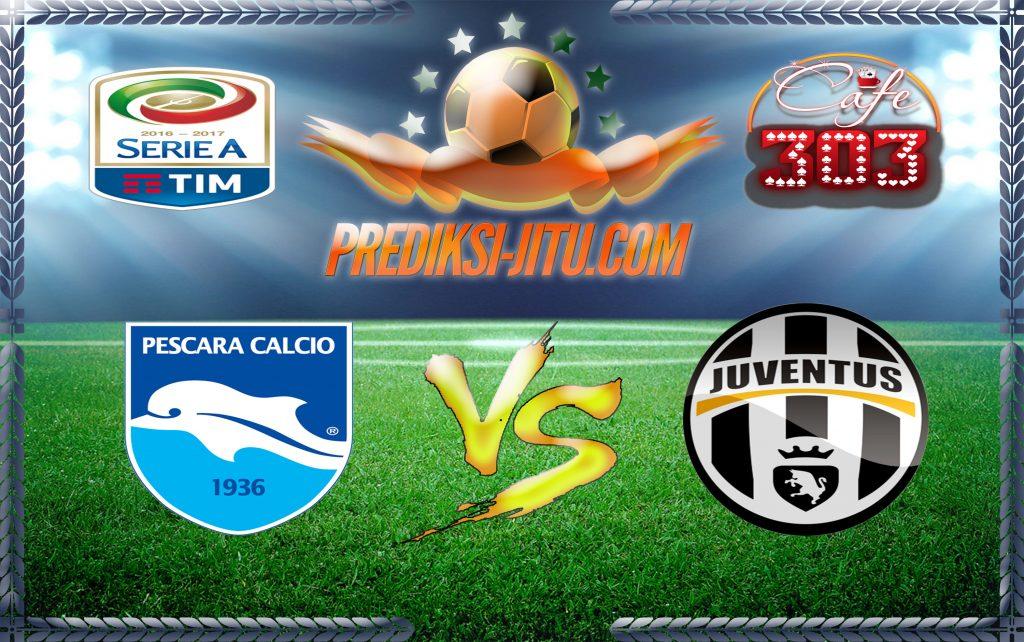 Prediksi Skor Pescara Vs Juventus 15 April 2017
