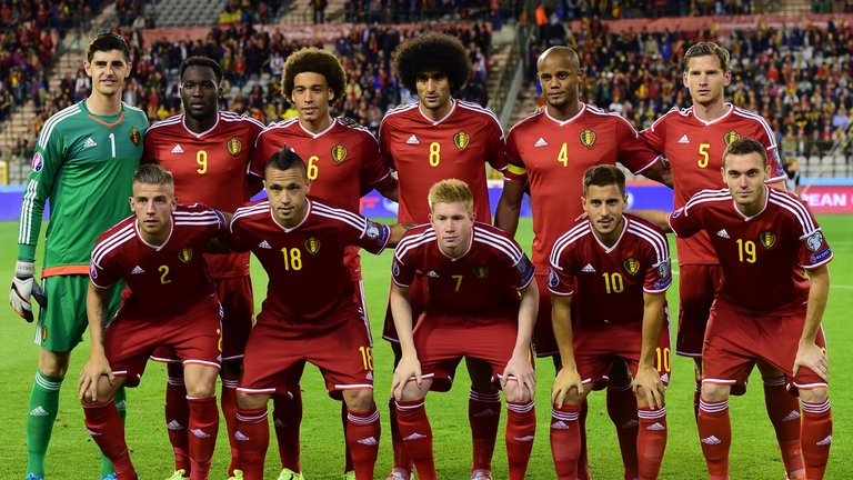 Belgia  Team Football