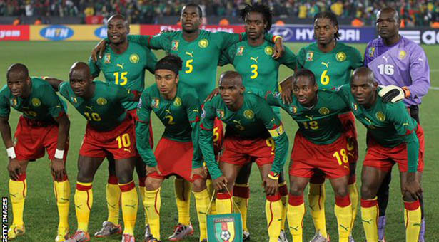 Cameroon Team Football
