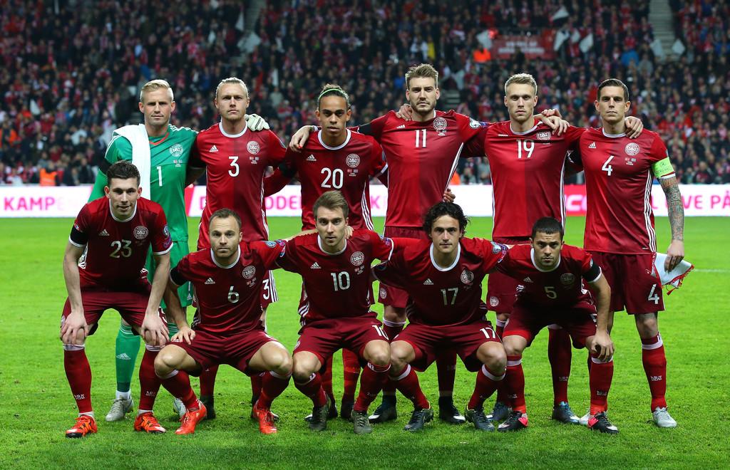 Denmark Team Footbal