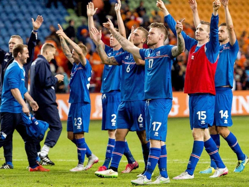 Iceland Footall Player