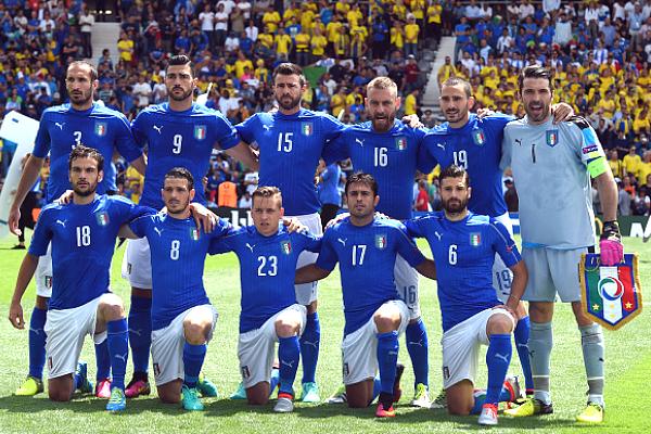 Italia Football Player