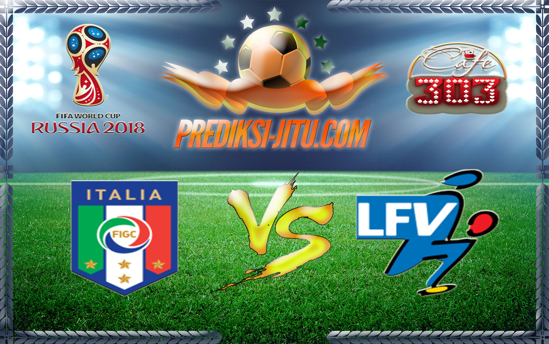 Prediksi Skor Italia Vs Liechtenstein 12 Juni  2017