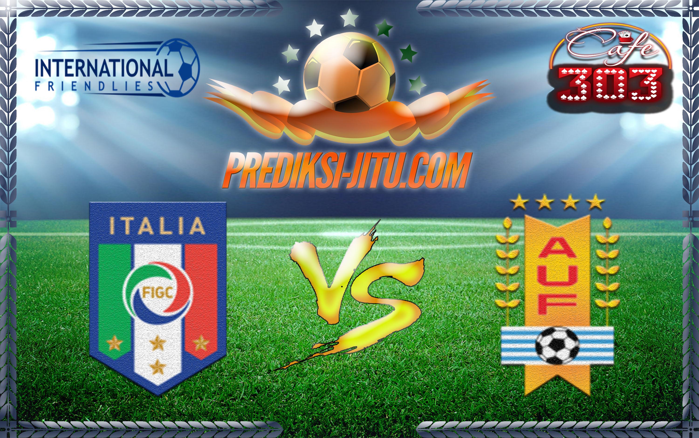 Prediksi Skor Italia Vs Uruguay 8 Juni 2017