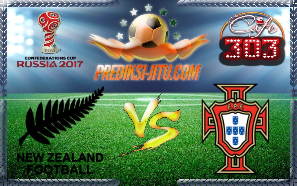 Prediksi Skor Selandia Baru Vs Portugal 24 Juni2017