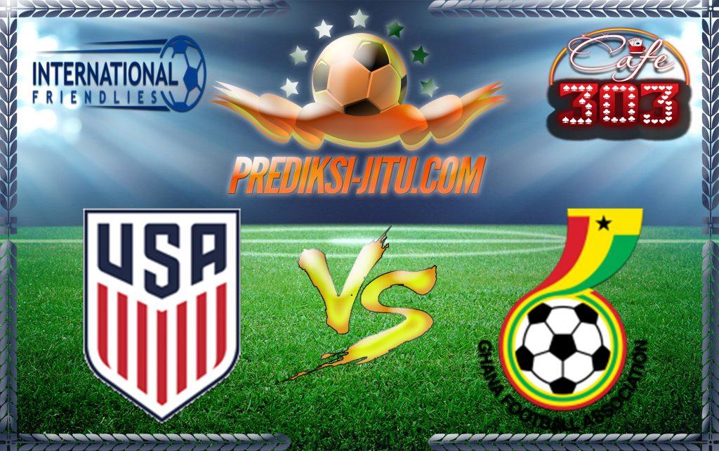 Prediksi Skor United States Vs Ghana 2 Juli 2017