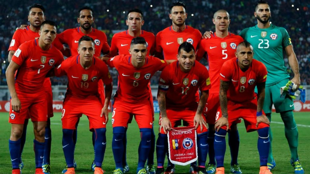 Chile Team Football