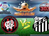Prediksi Skor Atletico PR Vs Santos 6 Juli 2017