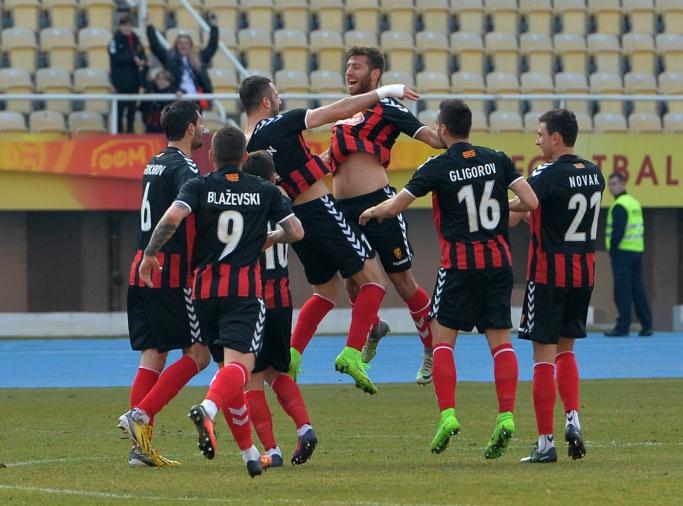 Vardar Football Team