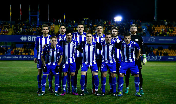 DEPORTIVO ALAVÉS TEAM FOOTBALL 2017