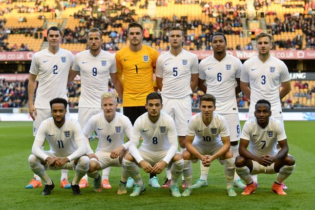 ENGLAND Team Football 2017