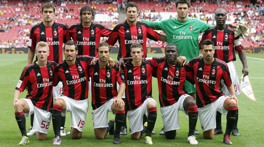 MILAN TEAM FOOTBALL 2017